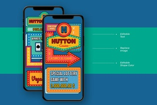 Thumbnail for Hutton - Casino Instagram Story