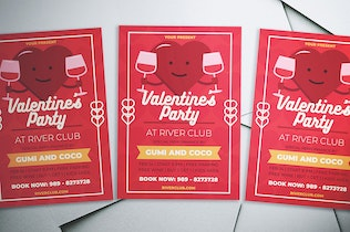 Thumbnail for Valentine's Party Flyer