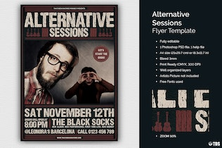 Thumbnail for Alternative Sessions Flyer Template
