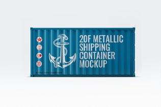 Thumbnail for Shipping Container Mock-Up