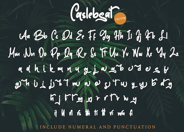 Caslebeat - Playfull SVG Font - product preview 9