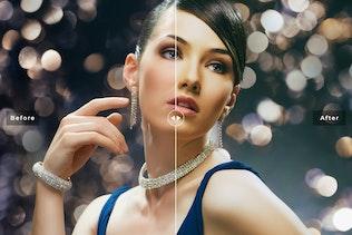 Vista en miniatura para Glamour & Beauty - Preset de Lightroom Móvil y escritorio