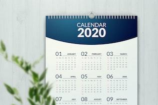 Thumbnail for Minimal Calendar 2020