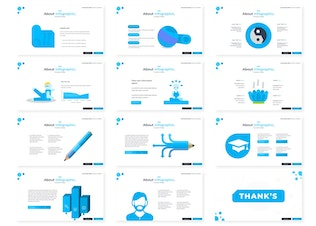 Thumbnail for Yoganise | Powerpoint Template