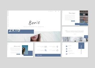 Thumbnail for Boris - Powerpoint/Google Slides/Keynote Template