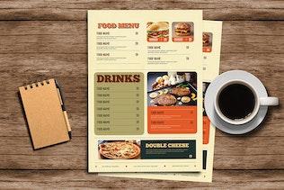 Thumbnail for Retro Diner Food menu
