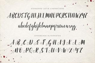 Thumbnail for Emellie Script Font