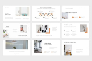 Thumbnail for Vureo : Modern Interior Design Powerpoint