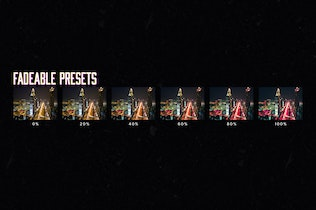 Thumbnail for 10 Cyberpunk Lightroom Presets & LUTs