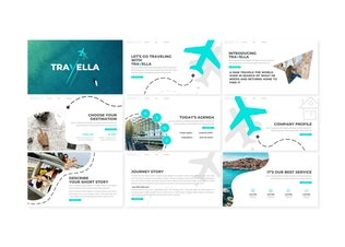 Thumbnail for Travella - Keynote Template