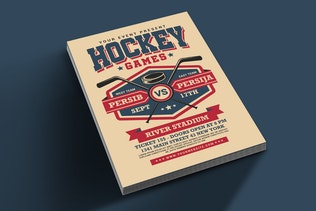 Thumbnail for Hockey Game Flyer