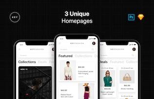 Thumbnail for Key - Fashion Shop UI Kit