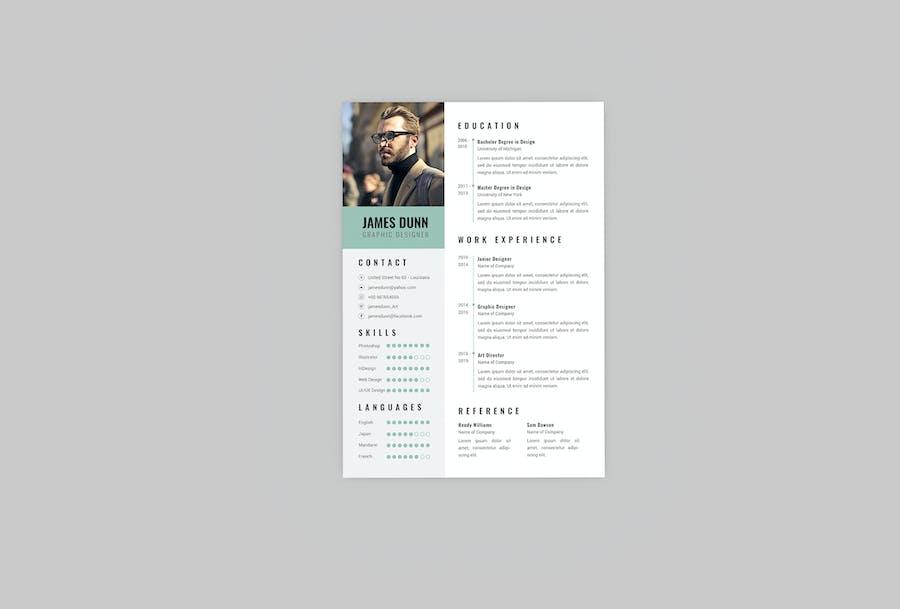Trig CV Resume Designer - product preview 2