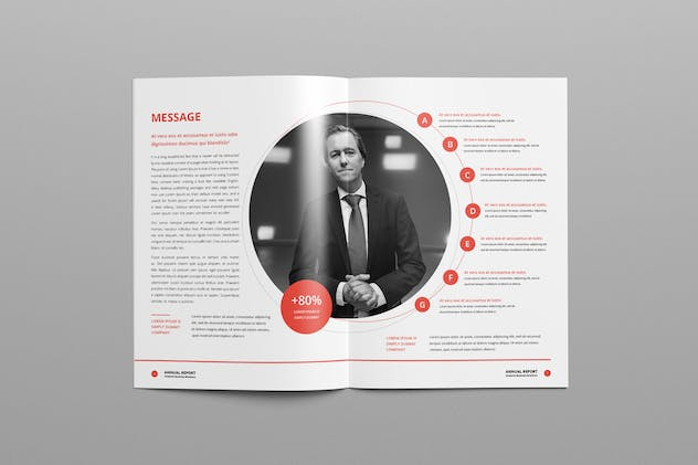 Annual Report A4 & Us Letter - product preview 4