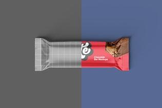 Thumbnail for Chocolate Bar Packaging Mockups