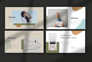 Thumbnail for SWEETER. - Minimal Creative Powerpoint