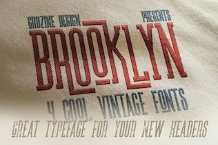 Thumbnail for Brooklyn Typeface