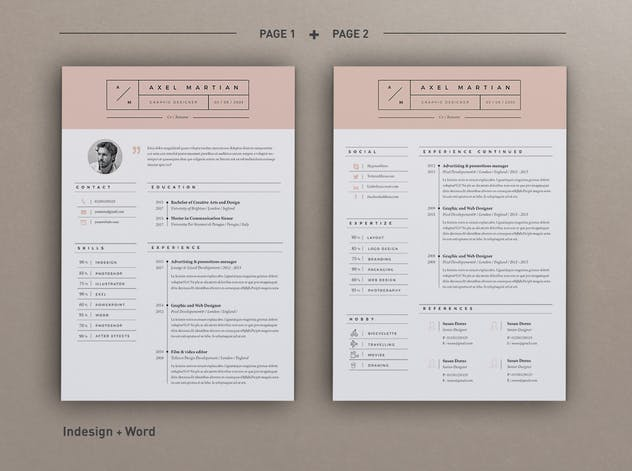 Resume Axel - product preview 3