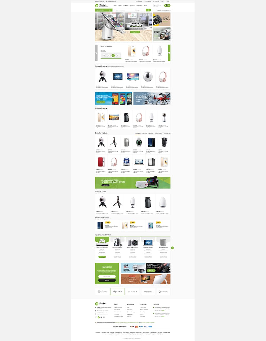 Themes Market Responsive Prestashop 1.7 - product preview 5