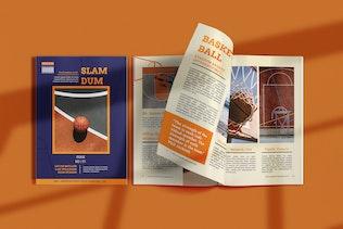 Thumbnail for Slamdum -  Sport Magazine Template