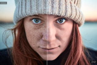 Thumbnail for Skin Retouch Photoshop Actions Kit