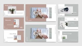 Миниатюра для CLEAN - Шаблон Keynote