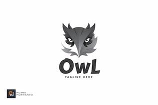 Thumbnail for Owl - Logo Template