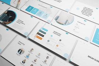 Thumbnail for IT Consultant Google Slides Template
