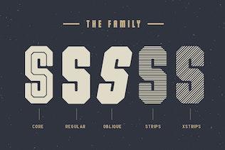 Miniatura para The Dalmation - Familia tipográfica