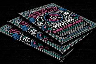 Thumbnail for Modern DJ Event Flyer