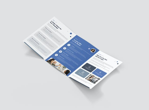 Brochure – Business Agency Tri-Fold A5 - product preview 0