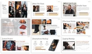 Thumbnail for Leder - Fashion Powerpoint Template