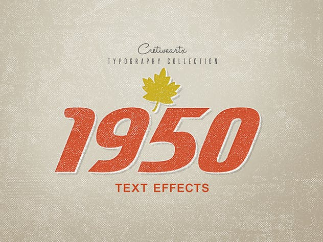 Vintage/Retro Text Effects 7 - product preview 10