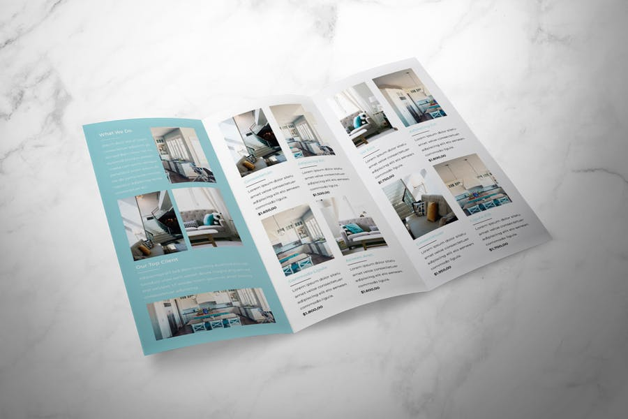 Real Estate Trifold Brochure - product preview 3