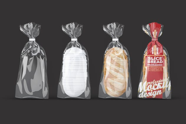 Slice Bread Packaging Mock-Up
