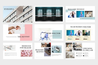 Thumbnail for Evoliova : Medical Powerpoint Template