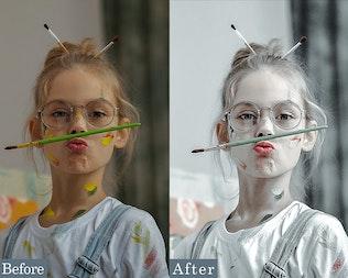 Thumbnail for Light Portrait Photoshop Actions