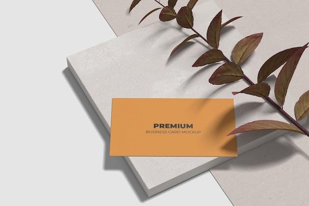 Minimalist Business Card Mockup Vol 4