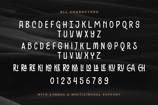 Black Ground - Rustic Typeface - product preview 5