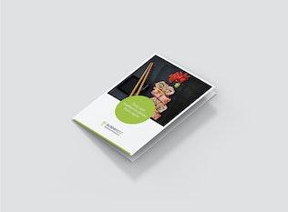 Brochure – Sushi Restaurant Tri-Fold A5