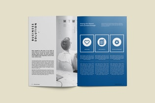 Thumbnail for Company Brochure Template