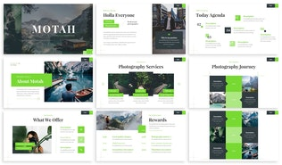 Thumbnail for Motah - Photography Powerpoint Template