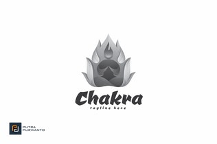Thumbnail for Chakra - Logo Template