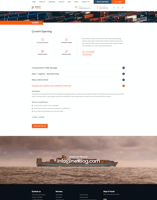 Thumbnail for Logistics Transportation Shipping Agency Business