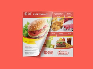 Thumbnail for Restaurant/ Fast Food - Flyer Template