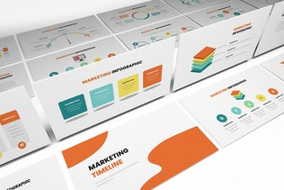 Thumbnail for Marketing Infographic Google Slides Template