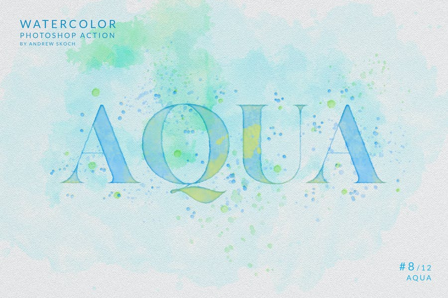 Watercolor Painting - Photoshop Action - product preview 11