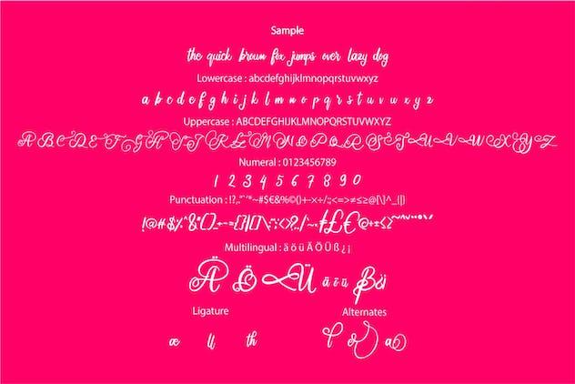Karolie | Elegant Script Font - product preview 5