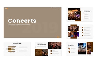 Concerts - Powerpoint Template