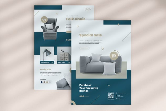 Furniture Flyer - product preview 2